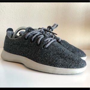Mens Allbirds wool Heather running sneakers Sz 9